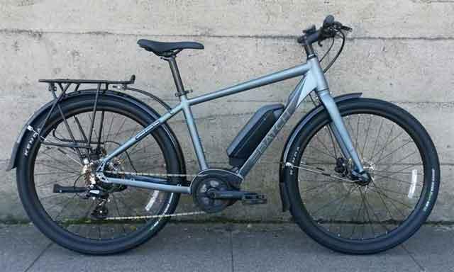 Электрический велосипед Batch Bicycles E-commuter