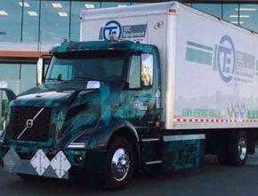 Volvo VNR Electric – грузовик на электрической тяге от известной шведской фирмы