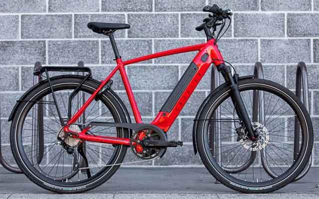 Электрический велосипед модель Gazelle Ultimate T10+HMB