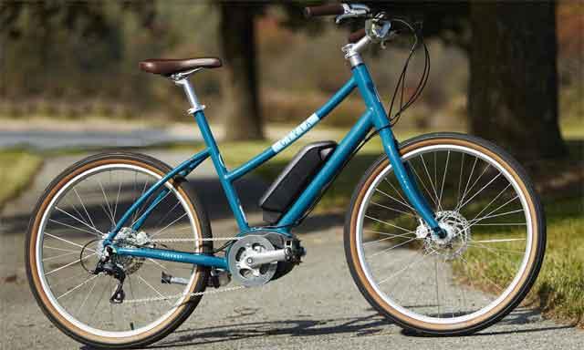 Электрический велосипед модели Parkway Step Thru