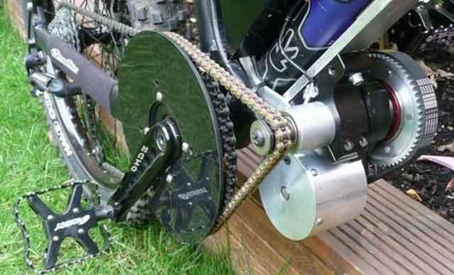 Электрический велосипед - главный компонент конструкции электро-привод