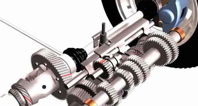 Автомобиль - конструкция коробки передач