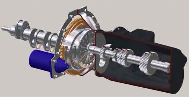 Автомобиль - конструкция силовой передачи