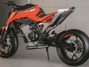 KTM разрабатывает новую платформу мотоцикла с двигателем 500 кубов