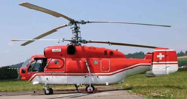 Вертолёт - конструкция машины с коаксиальным ротором