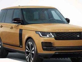 Range Rover Fifty юбилейный - машина с мемориальной табличкой на память