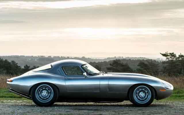 Lightweight GT – оригинальная реставрация знаменитой фирмы Jaguar Eagle