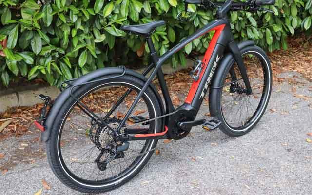 Электрический велосипед модели Trek Allant+9.9S Stagger