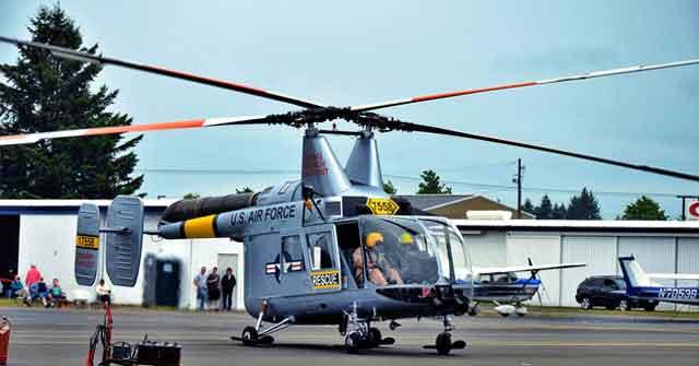 Вертолёт - исполнение машины с роторами взаимного зацепления