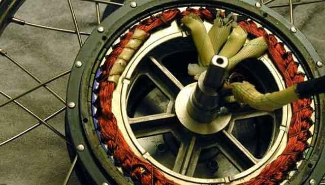 Электрические велосипеды - внутренний вид безщёточного мотора