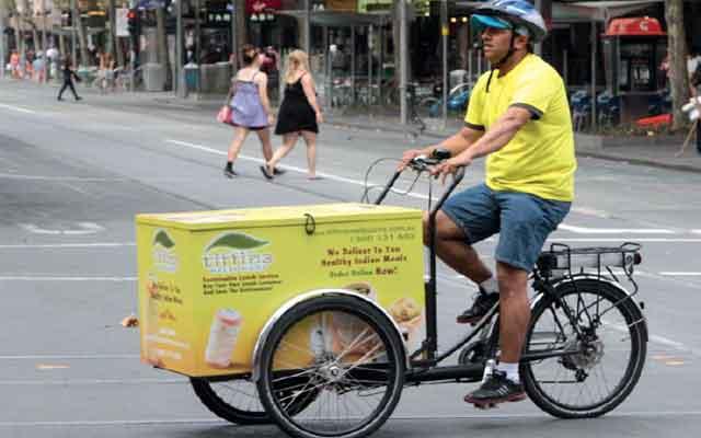 Электрические велосипеды - трёхколёсные грузовые машины