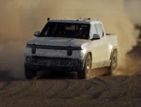 Rivian R1T – электрический грузовой автомобиль успешно прошёл испытание