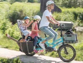 Велосипед GSD тайваньской фирмы Tern под транспортировку грузов