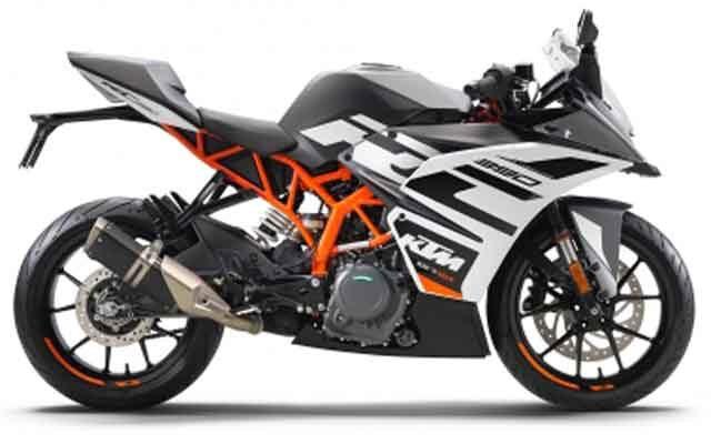 Мотоцикл «KTM RC390» - обновления для модели семилетней давности