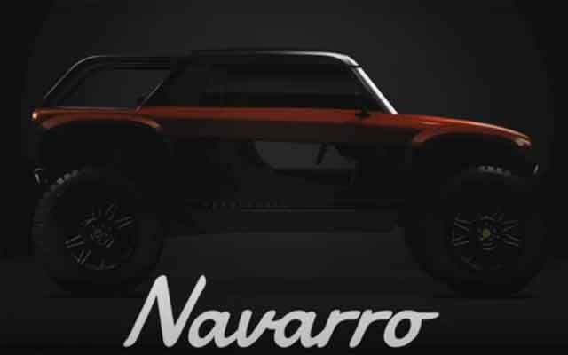 Четырёхколёсный внедорожник Vanderhall Navarro 2021 на замену тройке
