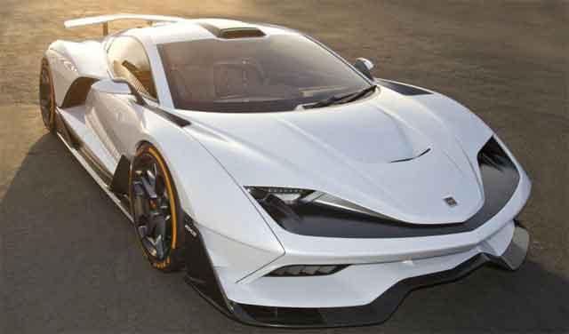 Самые мощные автомобили мира - конструкция Aria FXE