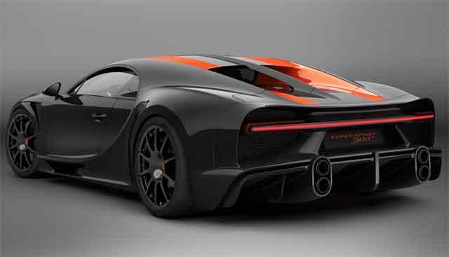 Самые мощные машины - Bugatti Chiron Super Sport 300+