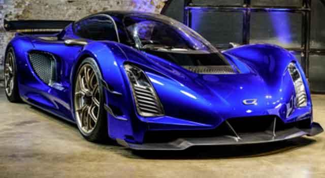 Самые мощные автомобили мира - конструкция Czinger 21C