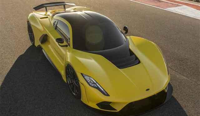 Самые мощные машины мира - модель Hennessey Venom F5