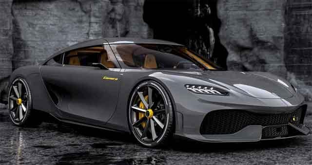 Самые мощные машины - конструкция Koenigsegg Gemera