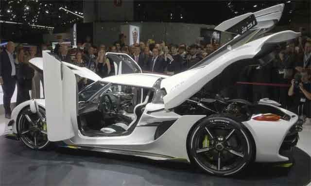Самые мощные автомобили мира - модель Koenigsegg Jesko