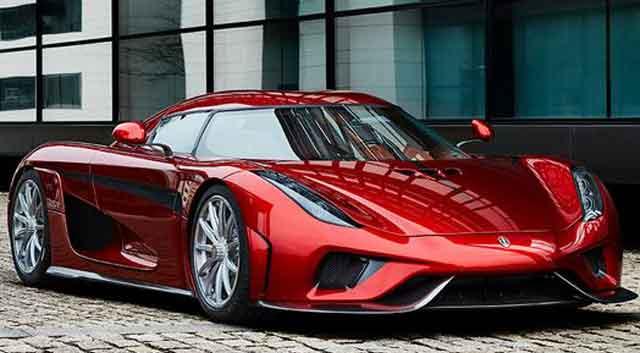 Самые мощные автомобили мира - модель Koenigsegg Regera