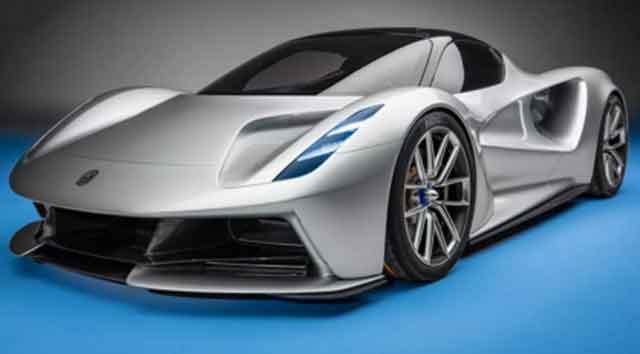 Самые мощные машины мира - конструкция Lotus Evija