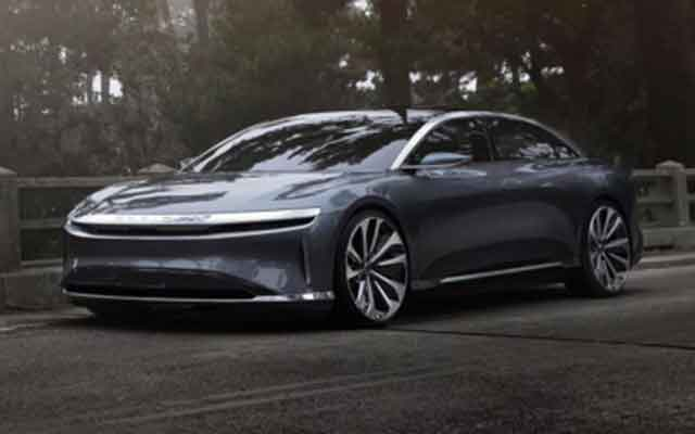Самые мощные автомобили мира - модель Lucid Air