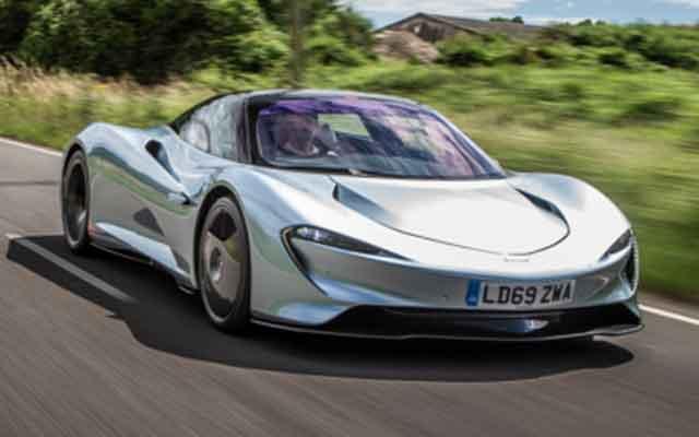 Самые мощные автомобили мира - конструкция McLaren Speedtail
