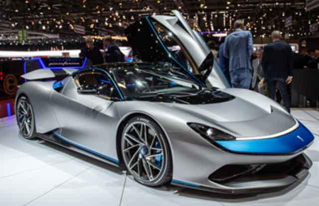 Самые мощные машины мира - модель Pininfarina Battista