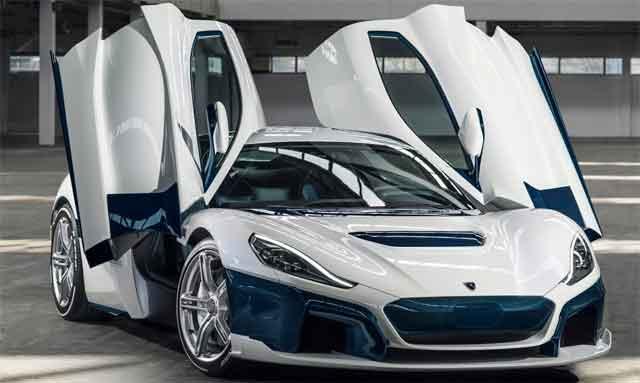 Самые мощные машины мира - модель Rimac C_Two