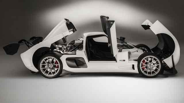 Самые мощные автомобили мира - конструкция Ultima RS
