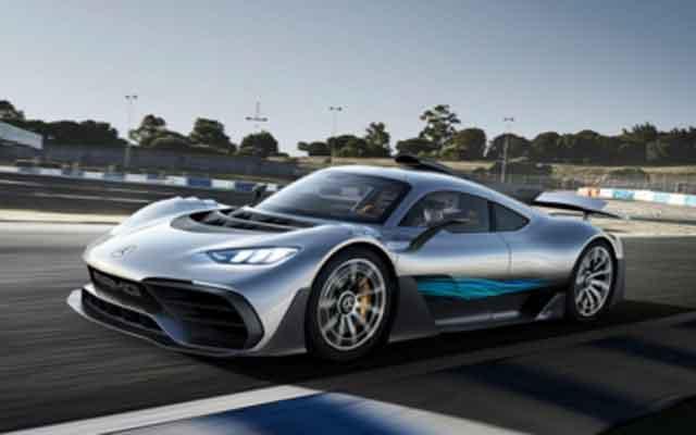 Самые мощные автомобили мира - модель Project One