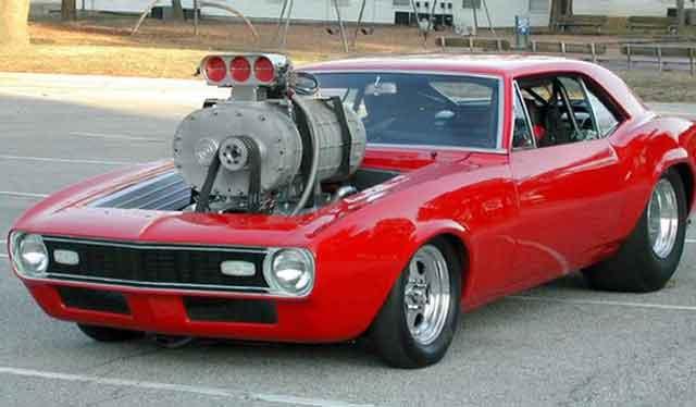 Нагнетатель и турбокомпрессор автомобиля - пример форсированной модели
