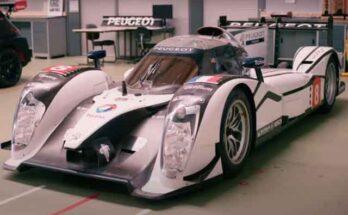 Автомобиль Peugeot в новом виде готовится для престижных гонок Ле-Мана