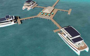 Курорт на воде из катамаранов сделает австрийская фирма Silent Yachts