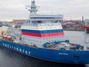 Атомный ледокол «Арктика» проекта 22220 принят русским флотом