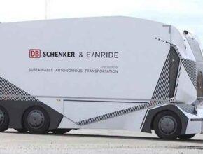 Новый автономный электрический грузовик T-pod от шведских производителей