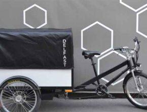 Последний электрический велосипед Trike украинской Delfast уже в продаже