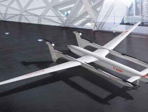 Беспилотник Albatross V400 разработали китайские инженеры под аэротакси