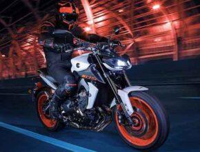 Мотоцикл Yamaha MT-09 Euro5 2021 года появился на тизерных картинках