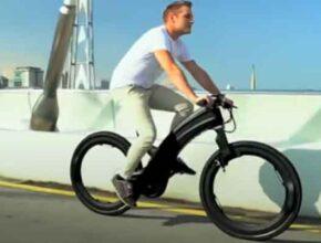 Велосипед Hubless E-Bike и полный запрет на металлические спицы