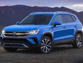 Новый внедорожник Volkswagen Taos немецкий завод выпустит в 2022 году