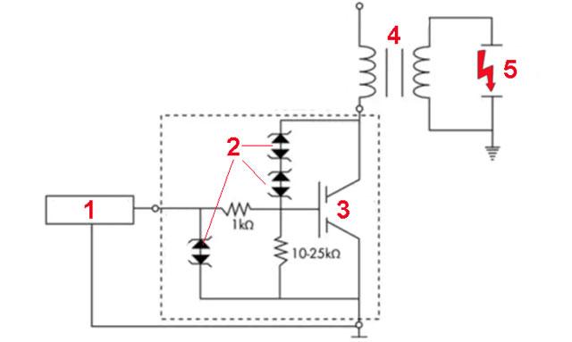 Электронное зажигание IGBT -классическая схема для современных автомобилей