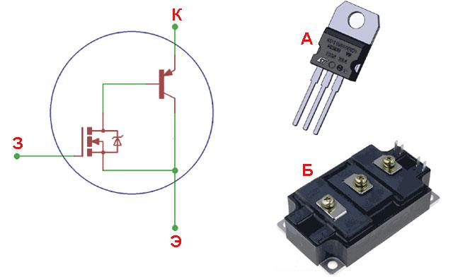 Электронное зажигание IGBT: структурная схема + исполнение полупроводника