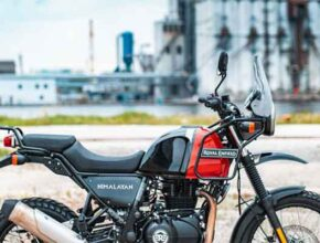 Мотоцикл Royal Enfield Himalayan 2021 года на выход