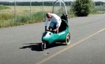 Миниатюрный электромобиль LEF из Голландии