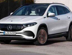 Электромобиль Mercedes-Benz Y. EQA дополнит февраль