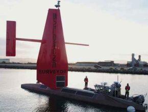 Беспилотник Surveyor для анализа океана обновили