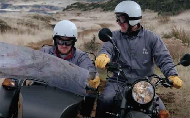 Мотоцикл Ural Gear UP GEO на рынок против пандемии